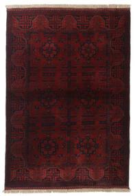 Afgan Khal Mohammadi Dywan 104X147 Orientalny Tkany Ręcznie Ciemnoczerwony (Wełna, Afganistan)