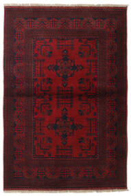 Afghan Khal Mohammadi Rug 101X145 Authentic  Oriental Handknotted Dark Red (Wool, Afghanistan)