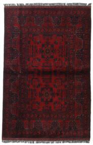 Afghan Khal Mohammadi Vloerkleed 103X153 Echt Oosters Handgeknoopt Donkerrood (Wol, Afghanistan)
