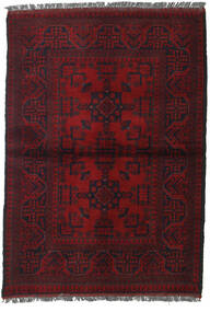 Afghan Khal Mohammadi Rug 103X146 Authentic  Oriental Handknotted Dark Red (Wool, Afghanistan)