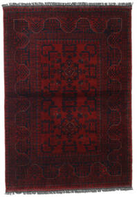 Afghan Khal Mohammadi Rug 106X150 Authentic  Oriental Handknotted Dark Red (Wool, Afghanistan)