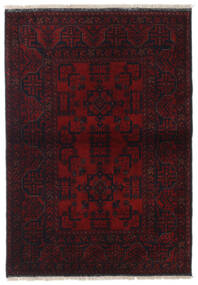 Afghan Khal Mohammadi Alfombra 104X148 Oriental Hecha A Mano Rojo Oscuro (Lana, Afganistán)