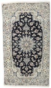 Nain Koberec 118X210 Orientální Ručně Tkaný Světle Šedá/Tmavošedý (Vlna, Persie/Írán)