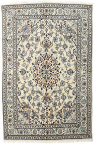 Nain Rug 162X248 Authentic  Oriental Handknotted Dark Grey/Beige/Light Grey (Wool, Persia/Iran)