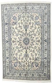Nain Rug 170X230 Authentic  Oriental Handknotted Light Grey/Beige/Dark Grey (Wool, Persia/Iran)