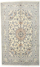 Nain Rug 170X230 Authentic  Oriental Handknotted Beige/Light Grey (Wool, Persia/Iran)
