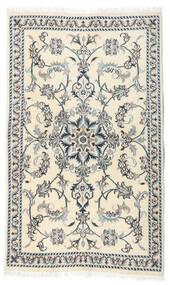 Nain Teppe 87X146 Ekte Orientalsk Håndknyttet Beige/Hvit/Creme (Ull, Persia/Iran)