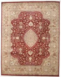 タブリーズ Royal 絨毯 240X306 オリエンタル 手織り 薄茶色/ベージュ ( インド)