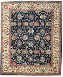 Ziegler Rug 238X288 Authentic Oriental Handknotted Dark Blue/Dark Grey (Wool, Afghanistan)