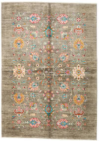 Ziegler Ariana Rug 167X236 Authentic  Oriental Handknotted Light Grey/Light Brown (Wool, Afghanistan)