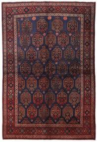 リリアン 絨毯 158X235 オリエンタル 手織り 深紅色の/濃い茶色 (ウール, ペルシャ/イラン)