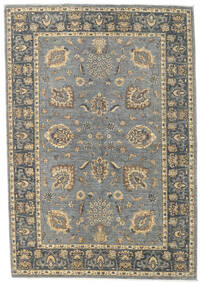 Ziegler Ariana Rug 166X240 Authentic  Oriental Handknotted Light Grey/Dark Grey (Wool, Afghanistan)