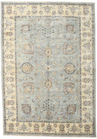 Ziegler Ariana Rug 170X243 Authentic  Oriental Handknotted Light Grey/Beige (Wool, Afghanistan)