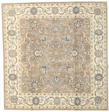 Ziegler Ariana Rug 201X209 Authentic  Oriental Handknotted Square Beige/Light Grey (Wool, Afghanistan)