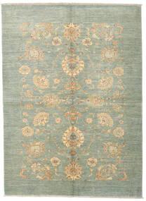 Ziegler Ariana Rug 169X232 Authentic  Oriental Handknotted Dark Beige/Light Green (Wool, Afghanistan)