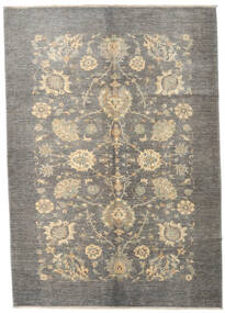 Ziegler Ariana Rug 172X242 Authentic  Oriental Handknotted Light Grey/Dark Grey (Wool, Afghanistan)