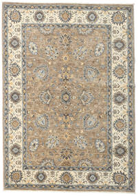 Ziegler Ariana Rug 146X207 Authentic  Oriental Handknotted Light Grey/Dark Grey (Wool, Afghanistan)