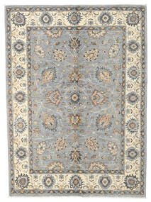Ziegler Ariana Rug 140X192 Authentic  Oriental Handknotted Light Grey/Beige (Wool, Afghanistan)