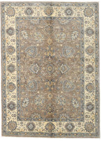 Ziegler Ariana Rug 142X195 Authentic  Oriental Handknotted Light Grey/Beige (Wool, Afghanistan)