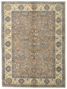 Ziegler Ariana Rug 144X193 Authentic  Oriental Handknotted Light Grey/Dark Grey (Wool, Afghanistan)
