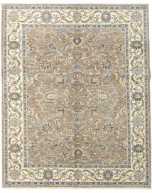 Ziegler Ariana Rug 154X190 Authentic  Oriental Handknotted Light Grey/Beige (Wool, Afghanistan)
