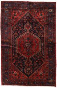 ハマダン 絨毯 156X248 オリエンタル 手織り 深紅色の (ウール, ペルシャ/イラン)
