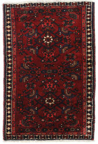 Hamadan Rug 70X105 Authentic  Oriental Handknotted Dark Red (Wool, Persia/Iran)