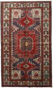Hamadan Covor 127X215 Orientale Lucrat Manual Maro Închis/Roșu-Închis (Lână, Persia/Iran)