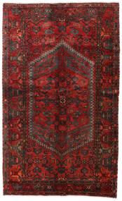 Hamadan Sag 130X215 Autentični Orijentalni Ručno Uzlan Tamnocrvena/Tamnosmeđa (Vuna, Perzija/Iran)