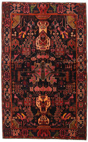 Koliai Rug 141X225 Authentic Oriental Handknotted Black/Dark Red (Wool, Persia/Iran)