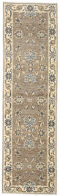 Ziegler Ariana Rug 72X248 Authentic  Oriental Handknotted Hallway Runner  Light Grey/Light Brown (Wool, Afghanistan)