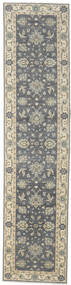 Ziegler Ariana Rug 90X380 Authentic  Oriental Handknotted Hallway Runner  Dark Grey/Light Grey (Wool, Afghanistan)