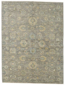 Ziegler Ariana Rug 156X208 Authentic  Oriental Handknotted Light Grey/Dark Grey (Wool, Afghanistan)