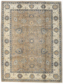 Ziegler Ariana Rug 214X285 Authentic  Oriental Handknotted Light Grey/Beige (Wool, Afghanistan)