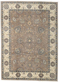 Ziegler Ariana Rug 199X278 Authentic  Oriental Handknotted Light Grey/Dark Grey (Wool, Afghanistan)
