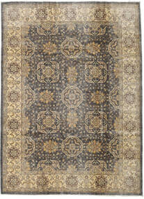 Ziegler Ariana Rug 210X285 Authentic  Oriental Handknotted Light Grey/Light Brown (Wool, Afghanistan)