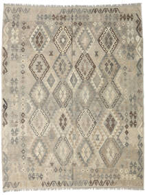 Kilim Afghan Old Style Rug 188X243 Authentic  Oriental Handwoven Light Grey (Wool, Afghanistan)