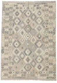 Kilim Afgan Old Style Dywan 170X246 Orientalny Tkany Ręcznie Jasnoszary/Ciemnobeżowy (Wełna, Afganistan)