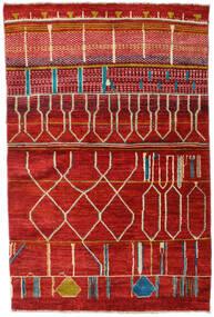 Moroccan Berber - Afganistan Matta 117X177 Äkta Modern Handknuten Roströd (Ull, Afghanistan)