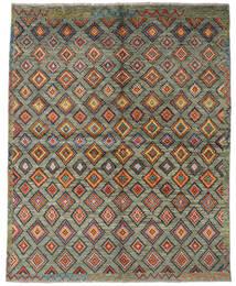 Moroccan Berber - Afganistan Matto 165X208 Moderni Käsinsolmittu Tummanharmaa/Vaaleanharmaa (Villa, Afganistan)