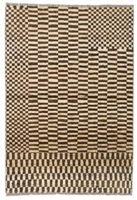 Moroccan Berber - Afganistan Rug 91X133 Authentic  Modern Handknotted Dark Brown/Beige (Wool, Afghanistan)