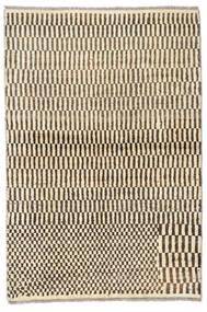 Moroccan Berber - Afganistan Rug 96X142 Authentic  Modern Handknotted Beige/Dark Brown (Wool, Afghanistan)