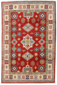 Kazak Rug 119X181 Authentic  Oriental Handknotted Dark Red/Rust Red (Wool, Pakistan)