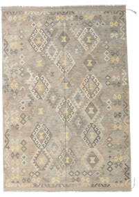 Kilim Afghan Old Style Rug 173X254 Authentic  Oriental Handwoven Light Grey/Beige (Wool, Afghanistan)