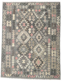 Kilim Afghan Old Style Rug 153X198 Authentic  Oriental Handwoven Light Grey/Dark Grey (Wool, Afghanistan)