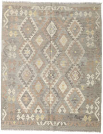Kilim Afghan Old Style Rug 153X193 Authentic  Oriental Handwoven Light Grey (Wool, Afghanistan)