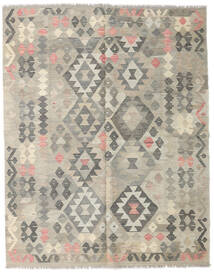 Kilim Afghan Old Style Rug 155X195 Authentic  Oriental Handwoven Light Grey (Wool, Afghanistan)
