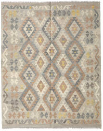 Kilim Afghan Old Style Rug 154X192 Authentic  Oriental Handwoven Light Grey (Wool, Afghanistan)
