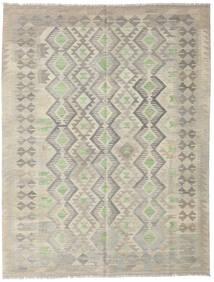 Kilim Afghan Old Style Rug 155X198 Authentic  Oriental Handwoven Light Grey/Dark Beige (Wool, Afghanistan)