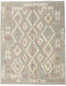 Kilim Afghan Old Style Rug 153X193 Authentic  Oriental Handwoven Light Grey/Dark Beige (Wool, Afghanistan)